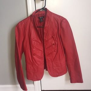 Metrostyle Real 100% authentic leather jacket!